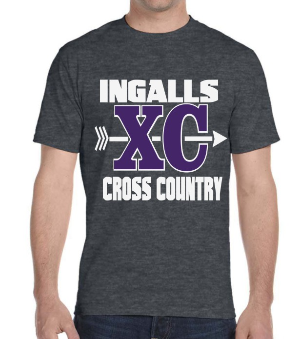 Ingalls Bulldogs Cross Country 2017 on Charcoal