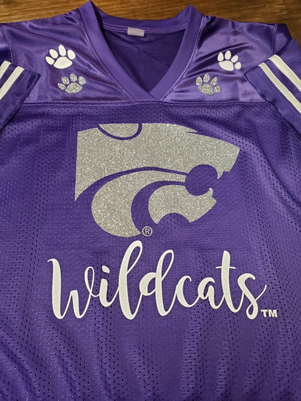2019 Wildcats Power Cat Paw Replica Jersey