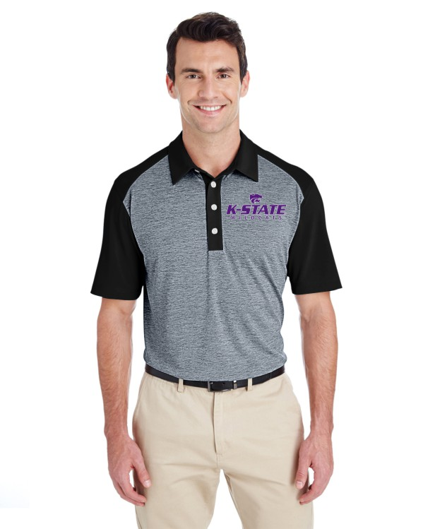 K-State Men's Adidas Performance Polo A145