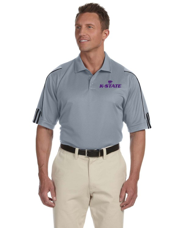 K-State Men's Adidas Performance Polo