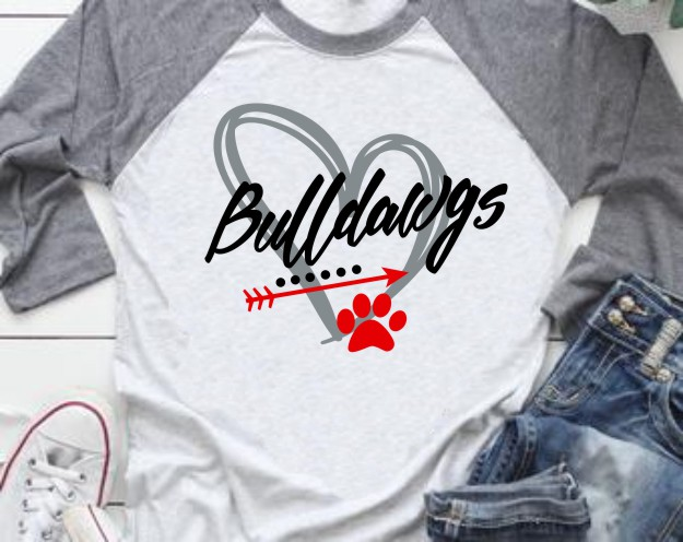 Bulldawgs 2019 Baseball Tee in Vinyl 1