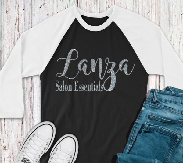 Lanza Salon Essentials Baseball Tee