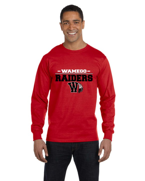 Men's Raider Long Sleeve T-Shirt
