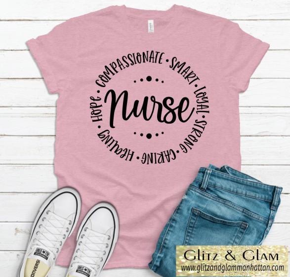 Nurse Word Circle Tee