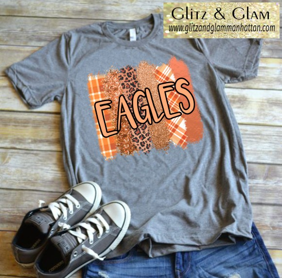 2019 Eagles in Decorative Stripe Print