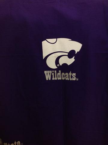 KSU Wildcats Stadium Blanket