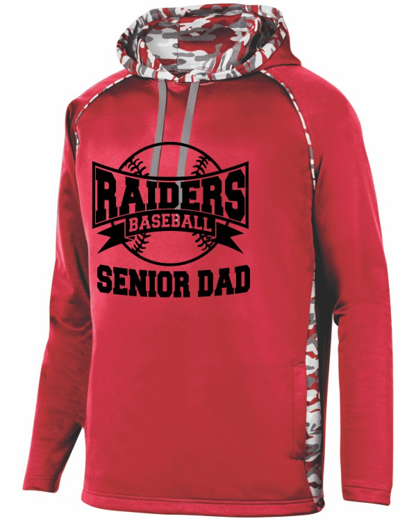 SENIOR DAD 2 ON PERFORMANCE HOODIE