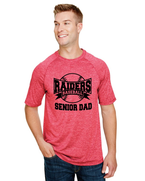 SENIOR DAD 2 ON PERFORMANCE SHORT SLEEVE