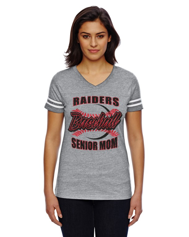 Glitter 3537 LAT Ladies' Football Fine Jersey T-Shirt