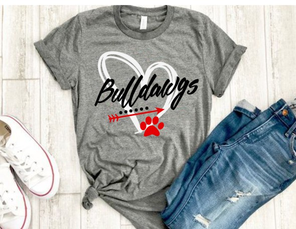 Vinyl Bulldawgs T-Shirt
