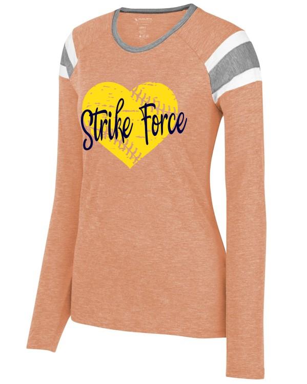 Augusta Long Sleeve Vinyl Heart Strike Force