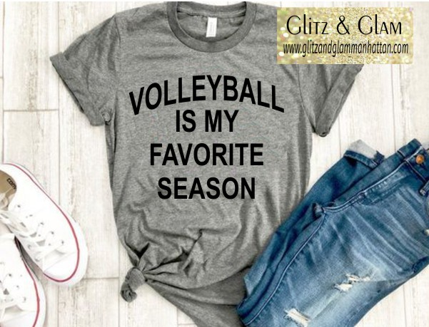 Volleyball is my Favorite Season T-Shirt