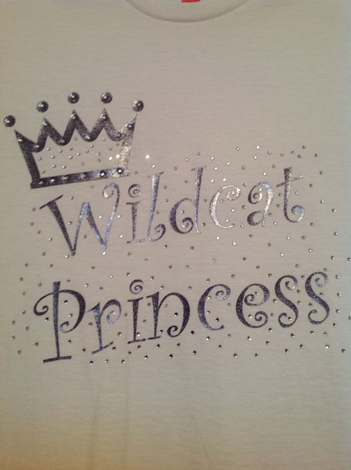 Youth Wildcat Princess Shirt