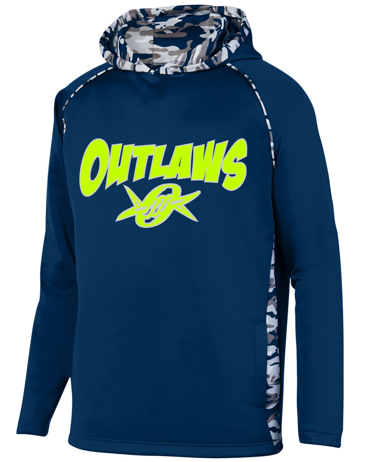 Outlaws Augusta Youth Performance Hoodie