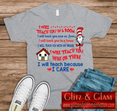 I Will Teach You with Zoom T-Shirt