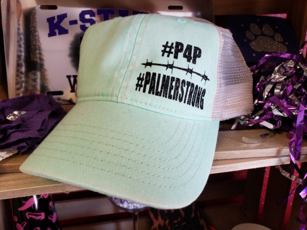 P4P Palmer Strong Comfort Colors Cap