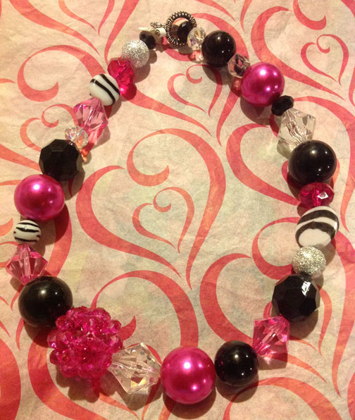 Pink Necklace #22